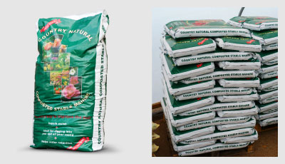 Natural Organic Composted Stable Manure